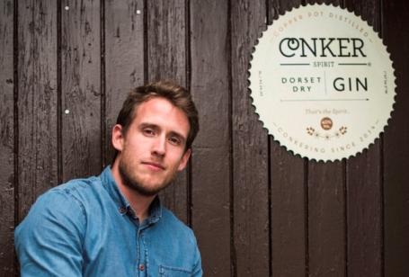 Rupert Holloway, Founder of Conker Gin