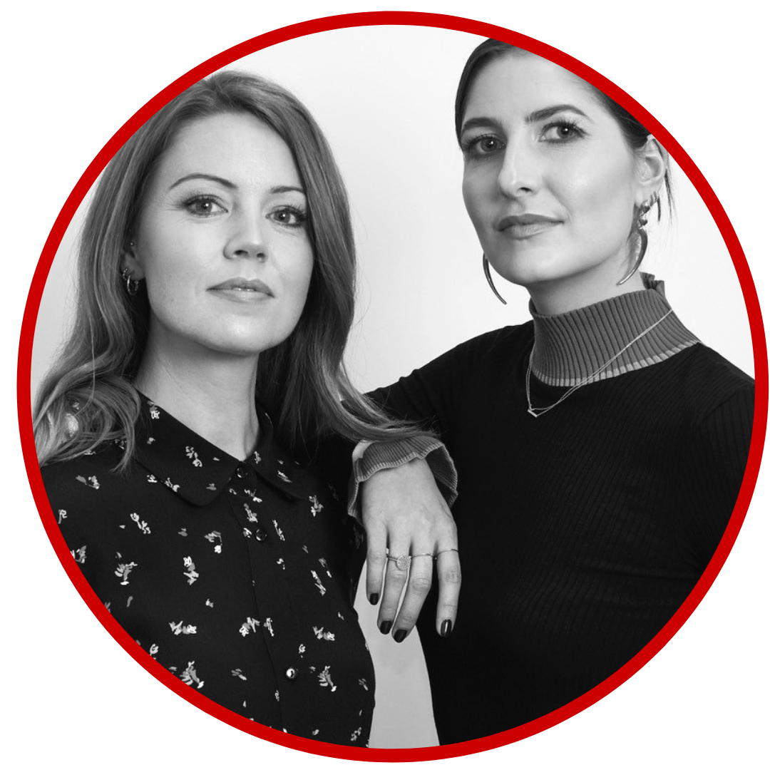Frances McDermott and Katie Arnold, founders, Rewritten