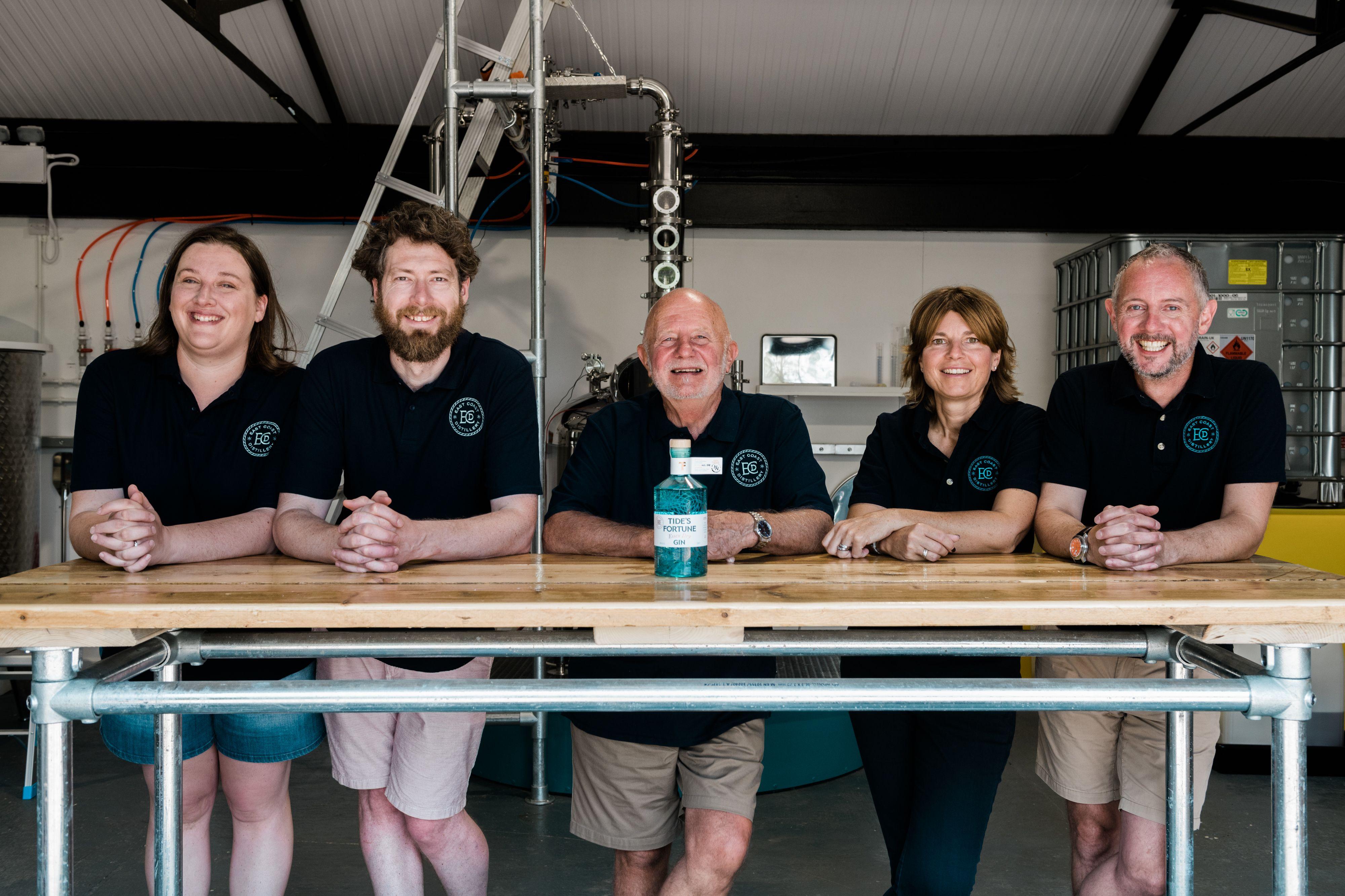 The team at East Coast Distillery