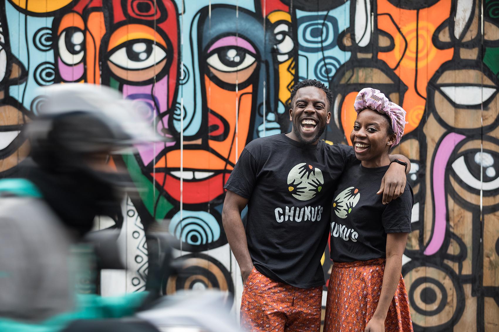 Chuku's founders Emeka and Ifeyinwa