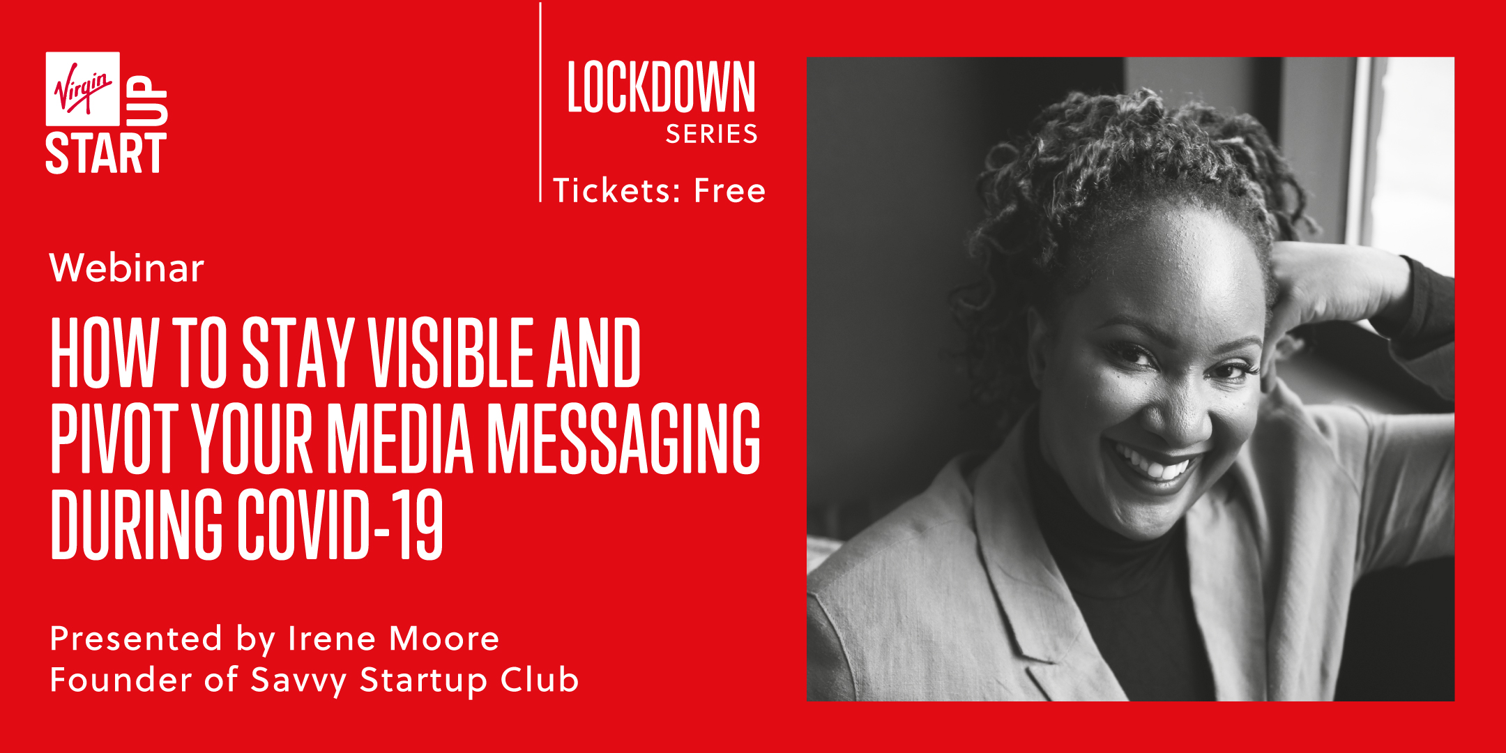 Lockdown series webinar with Irene Moore