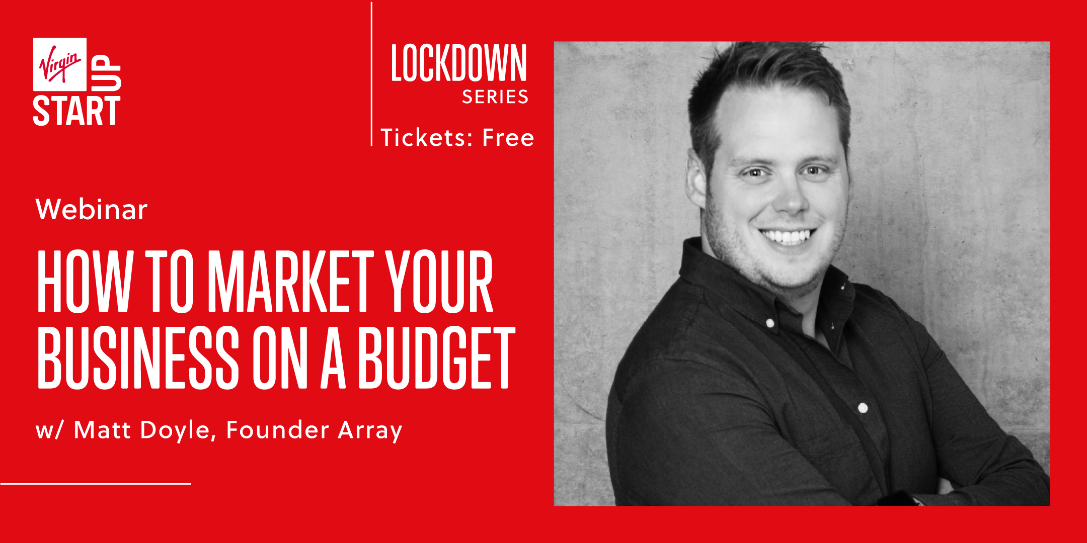 How to market your business on a budget webinar
