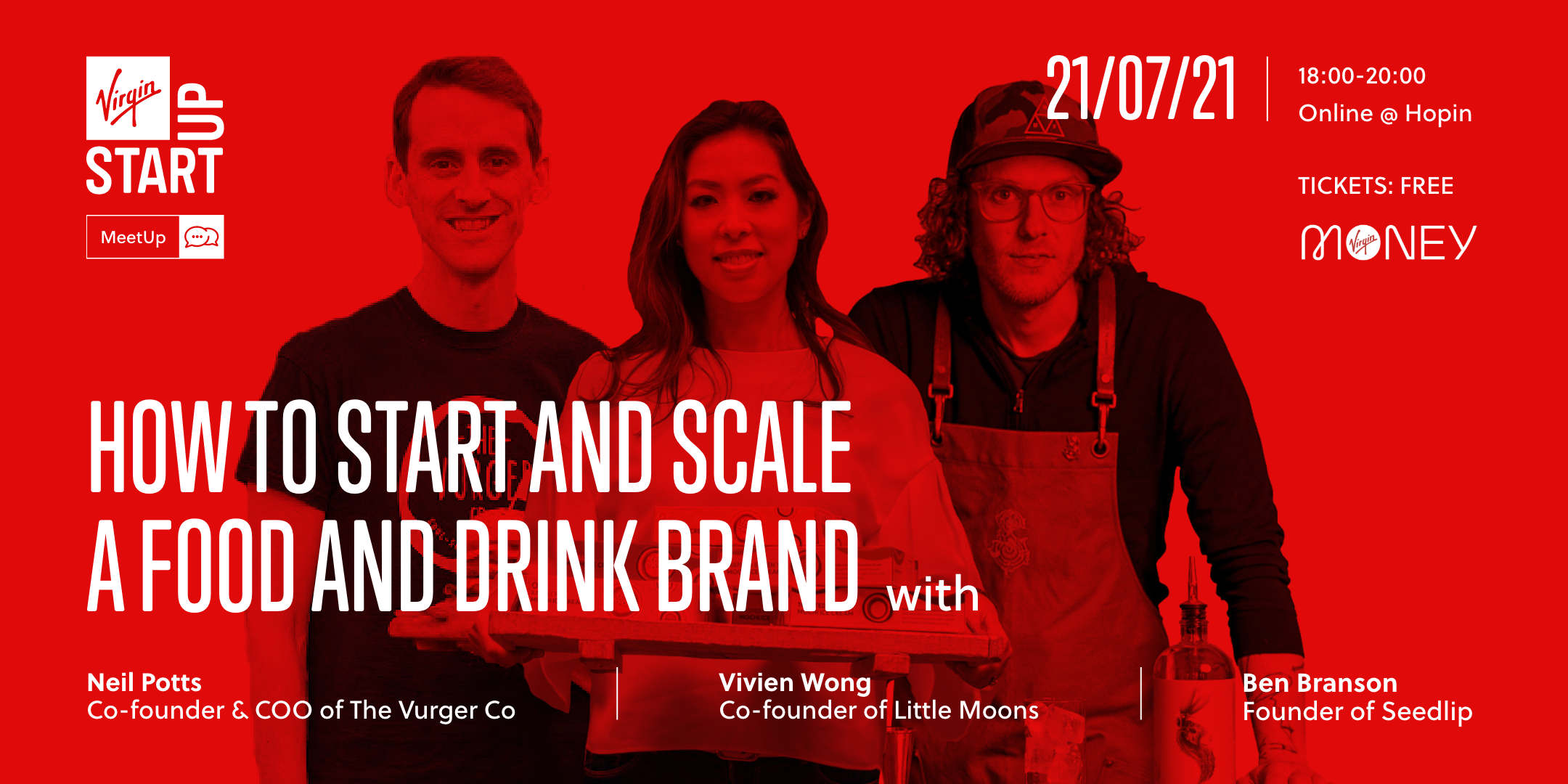 Virgin StartUp MeetUp Scale a food and drink brand