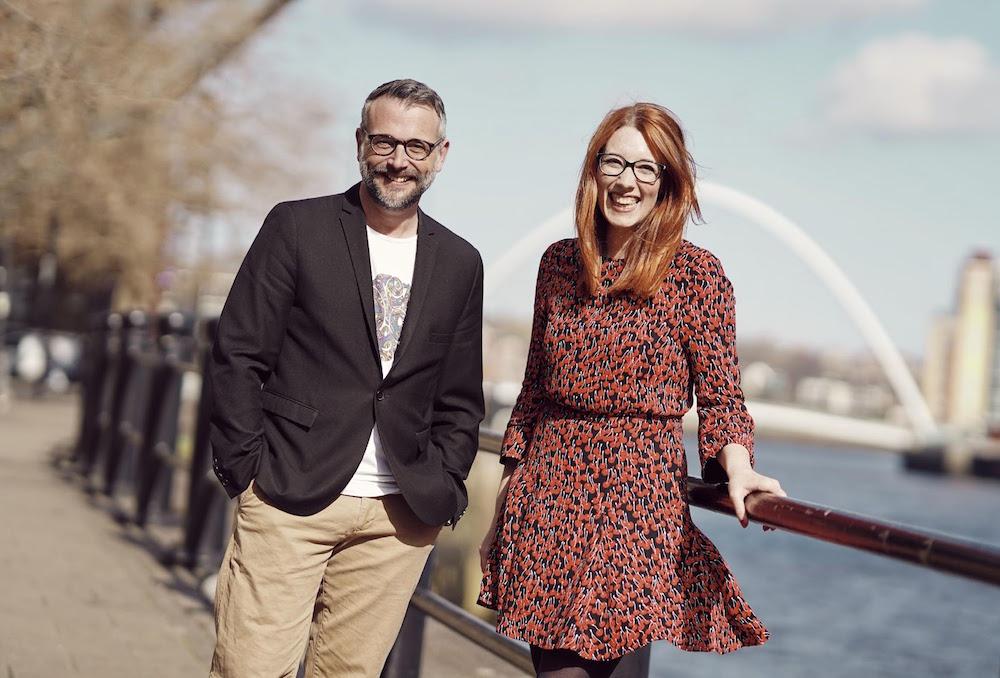 Kieron Goldsborough & Aimee Muirhead of Marketing Engine