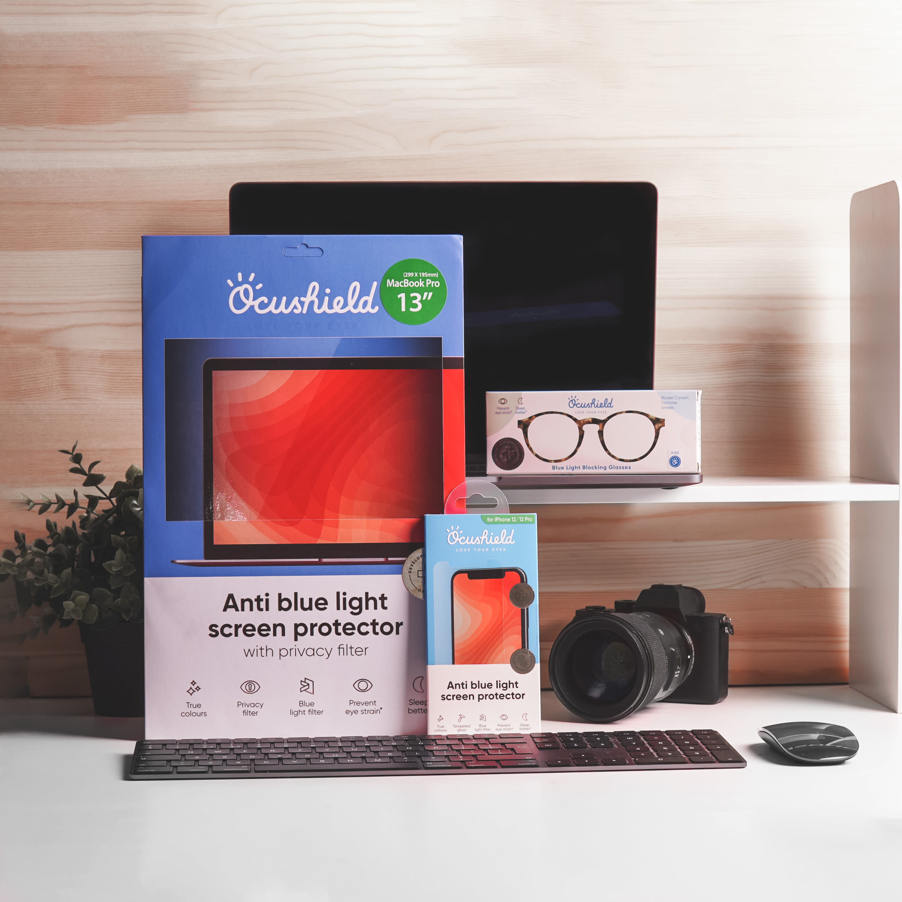 Displaying Ocushield products