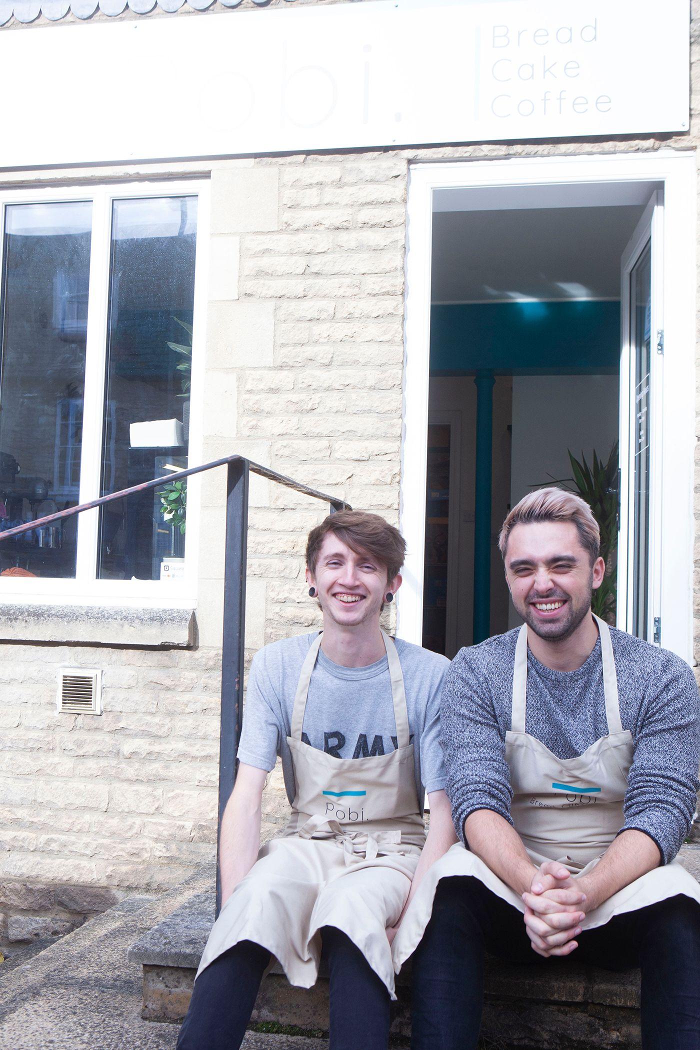 Founders of Pobi Bakery