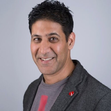 A photo of Sanjay Patel, Founding Partner of Packaging Collective
