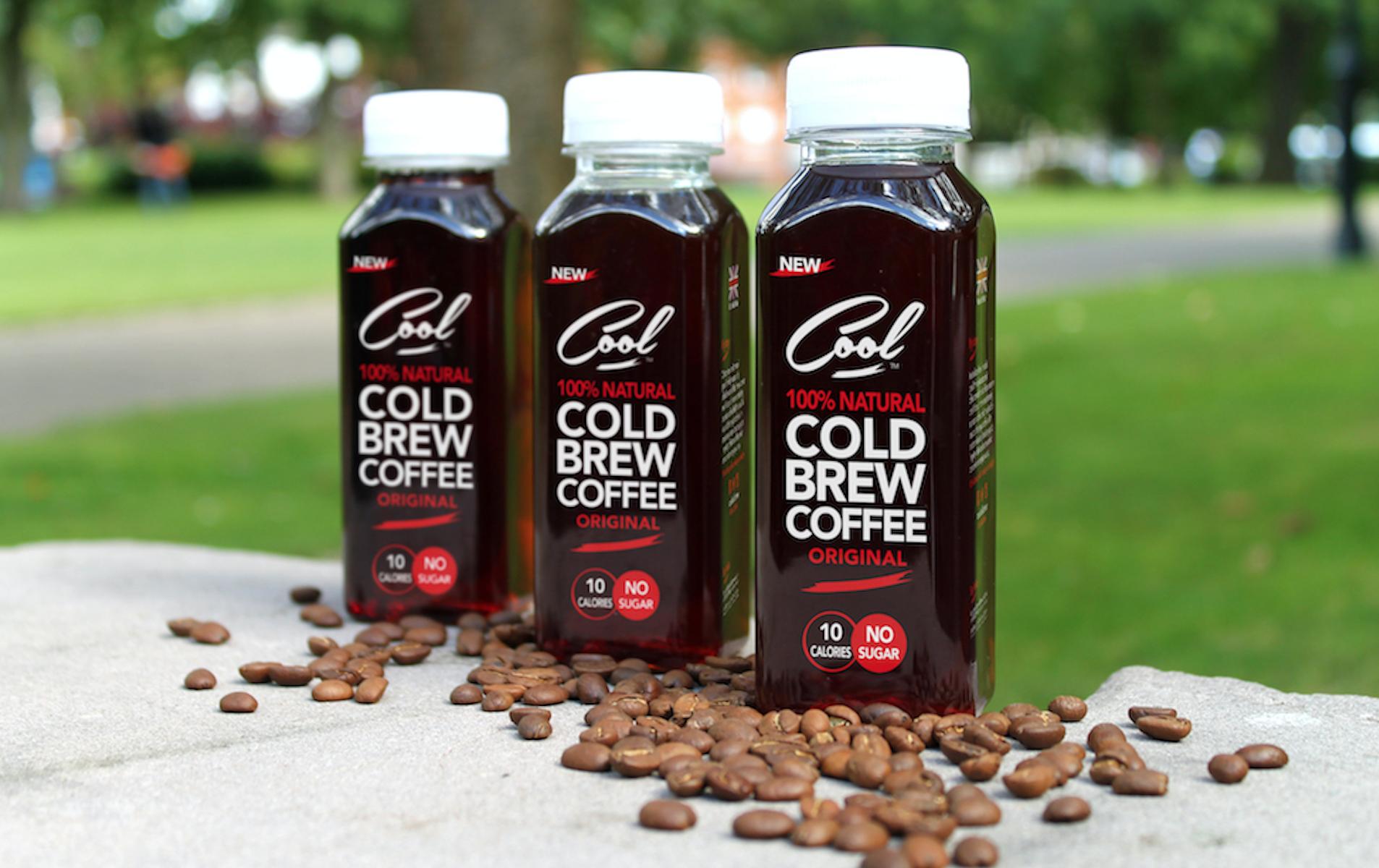 Original branding - Cool Cold Brew
