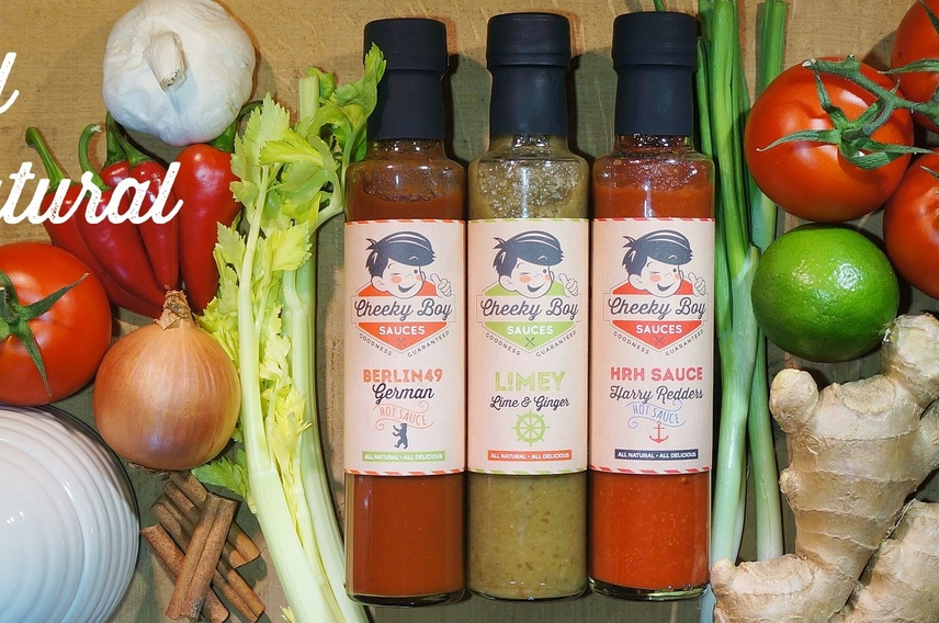 Cheeky Boy Sauces - Foodpreneur reveal