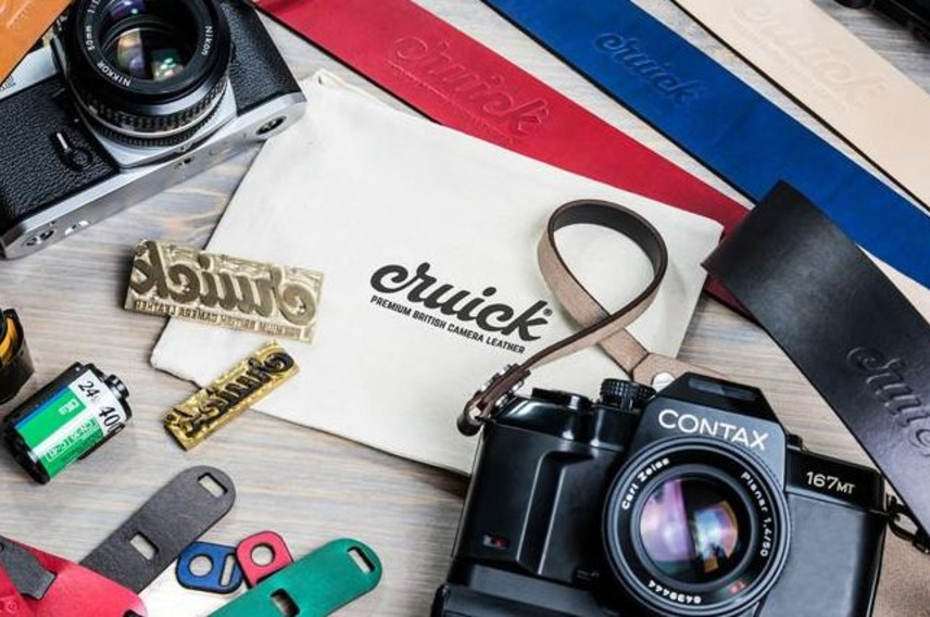 Cruick Leather Camera Straps are crowdfunding