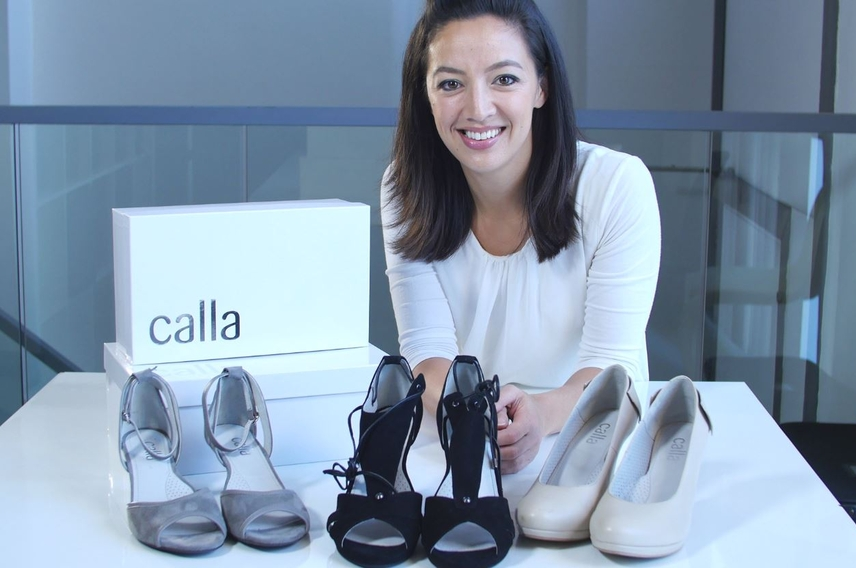 How to prove your business idea with a blog - Calla shoes