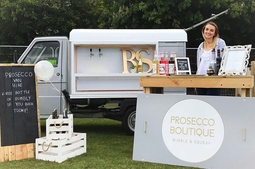 Bubble and Squeak Prosecco Boutique - StartUp of the Week