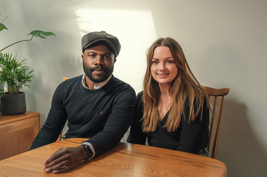 The founders of Rooted Interiors