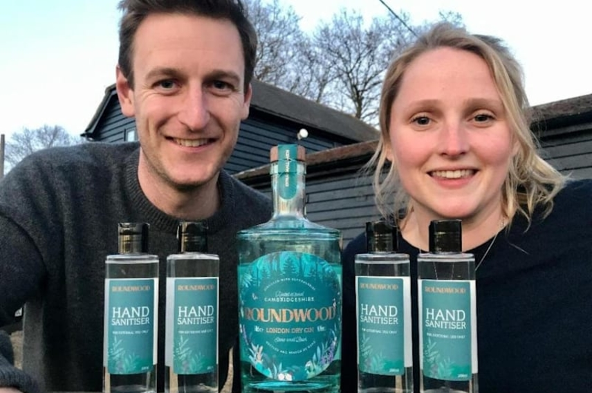 Photo of Roundwood Gin founders