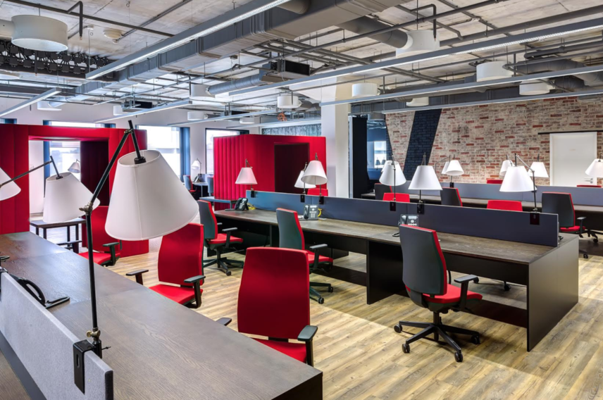 How can small businesses maximise their office space if they can't afford larger premises?