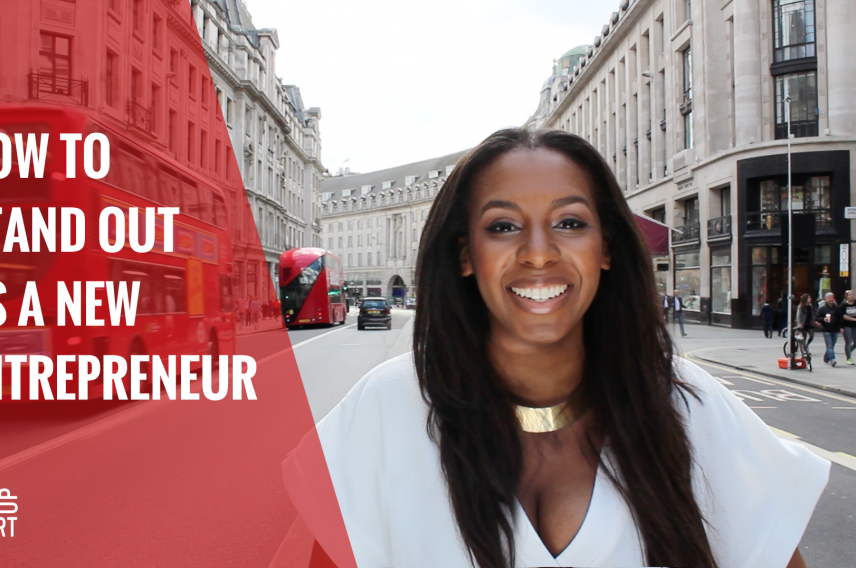 Brand and image expert Caroline McQueen talks about how to stand out from the crowd as a new entrepreneur.