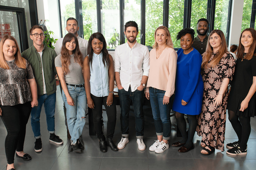 The team at Virgin StartUp