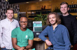 Photo of the ChargedUp founders