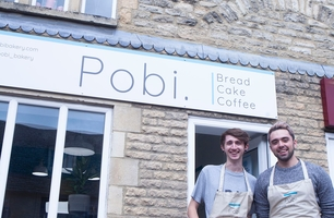 Founders of Pobi Bakery