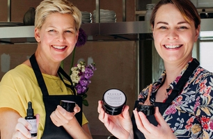 Kelly and Wendy from Meadow Skincare