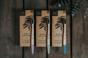 Wild & Stone sustainable toothbrush products