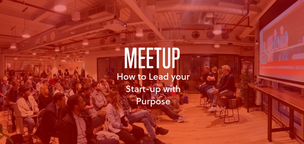 Virgin StartUp MeetUp How to lead your start-up with purpose