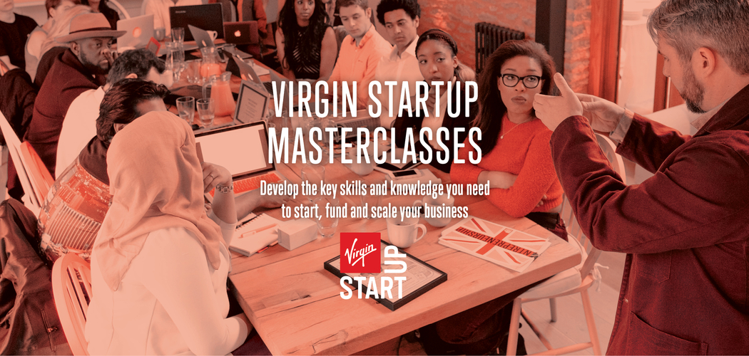 Virgin Start Up Masterclasses Carousel 1