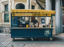 Change Please coffee truck