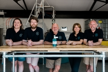 The team at East Coat Distillery