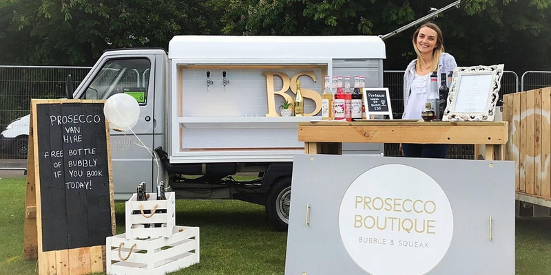 Bubble and Squeak Prosecco Boutique