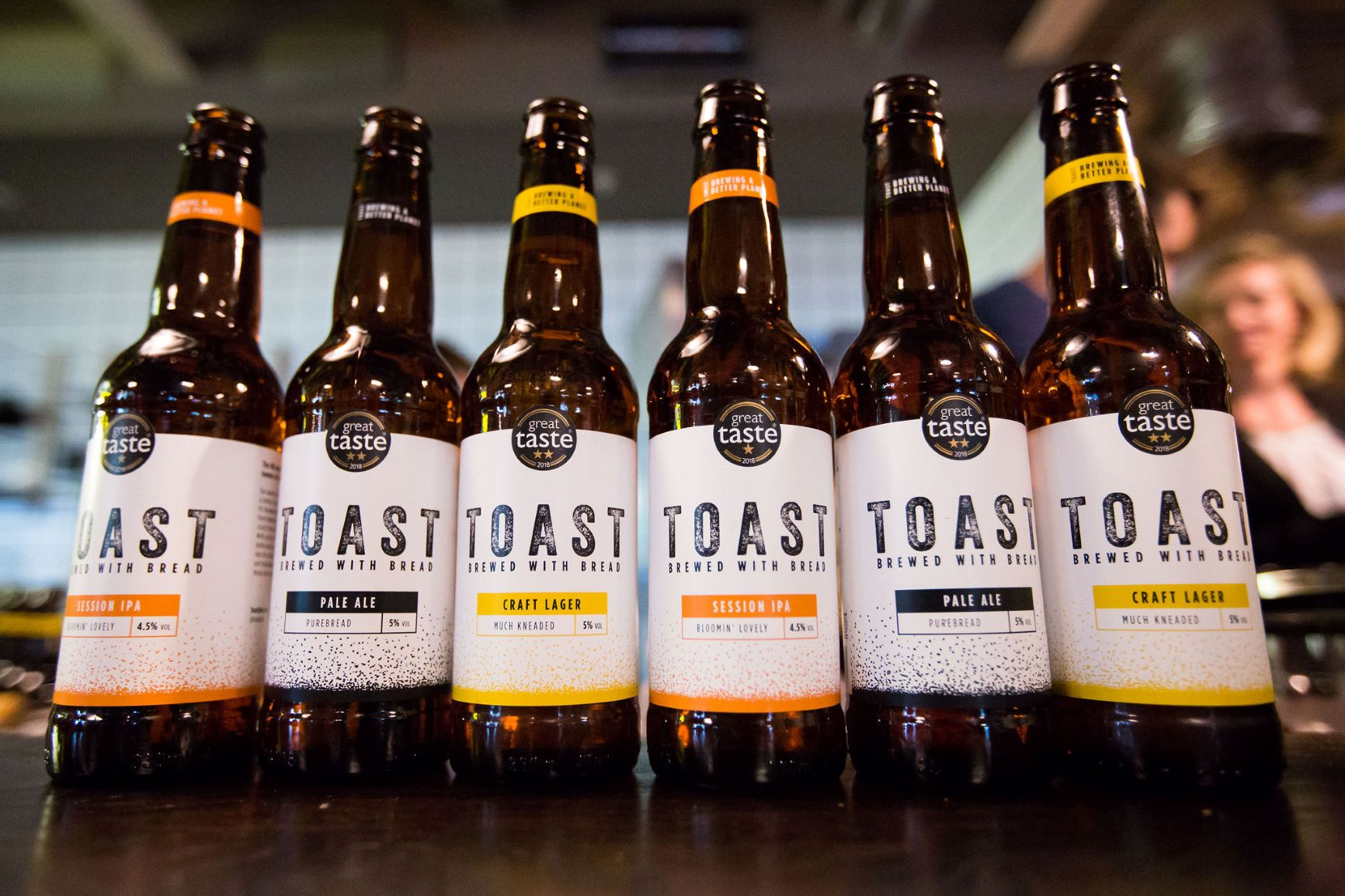 Bottles of Toast Ale
