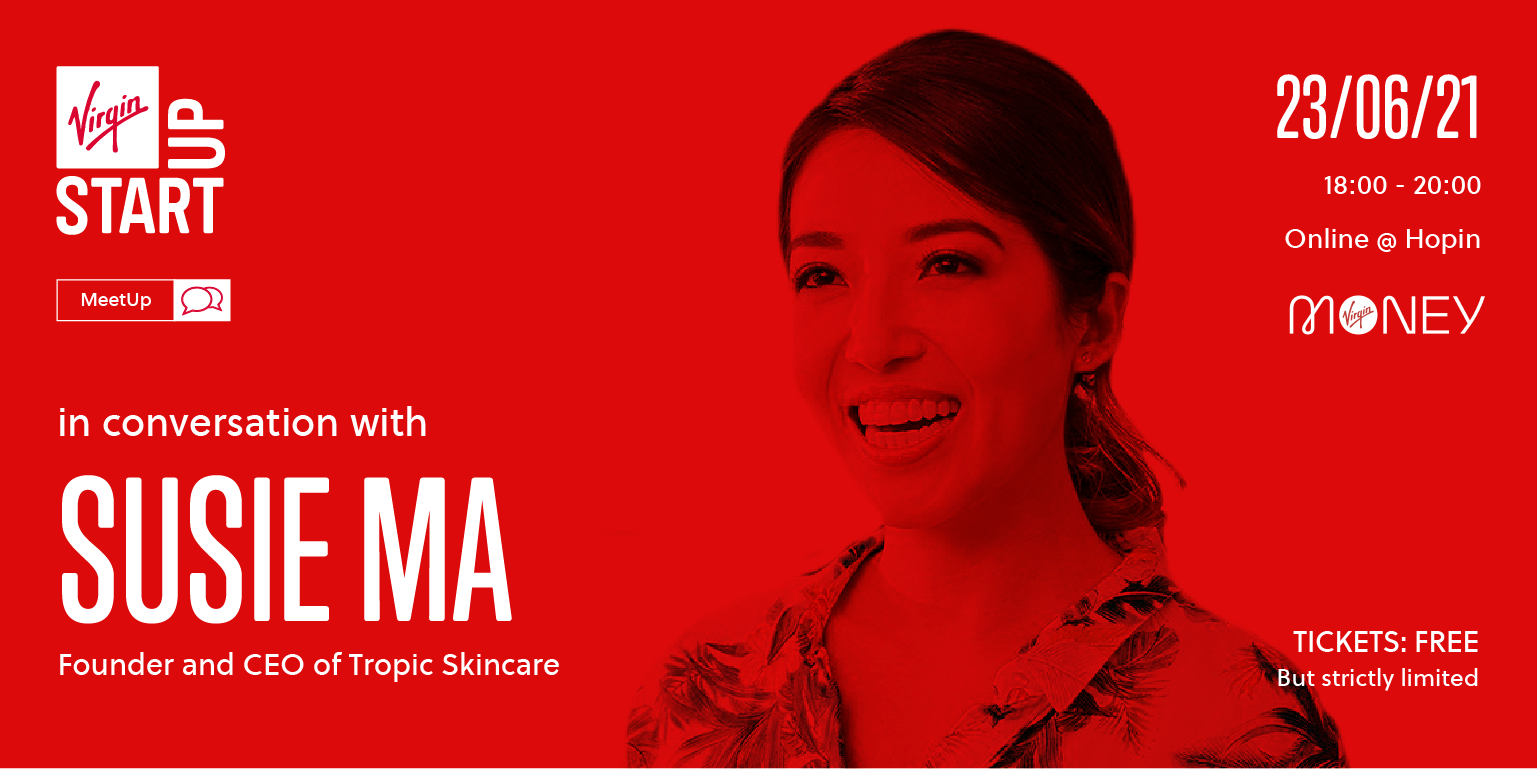 ie Ma Tropic Skincare Founder will be speaking at our next MeetUp